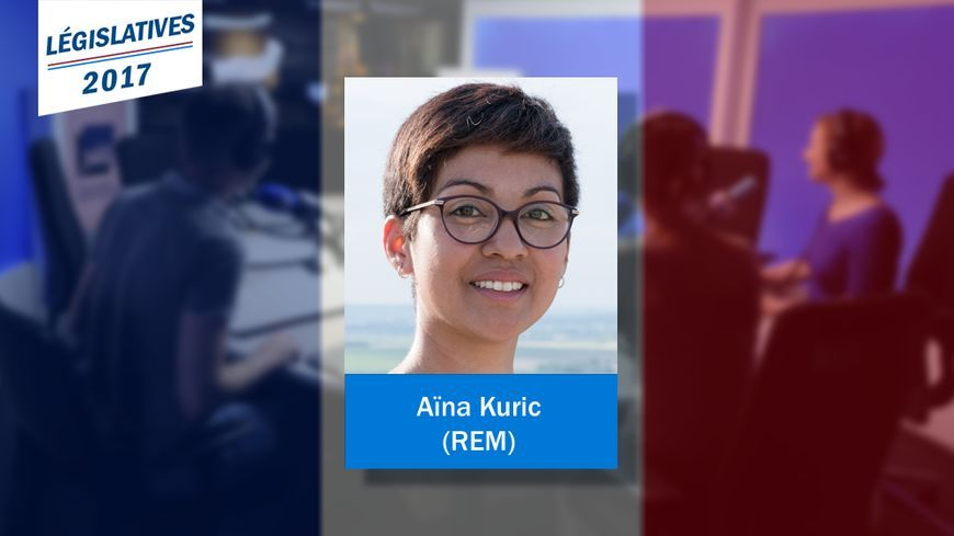 La députée LREM de la Marne Aïna Kuric