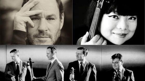 Gary Hoffmann ©Bernard Martinez; Yura Lee ©Georgia Bertazzi; Le Quatuor Jerusalem