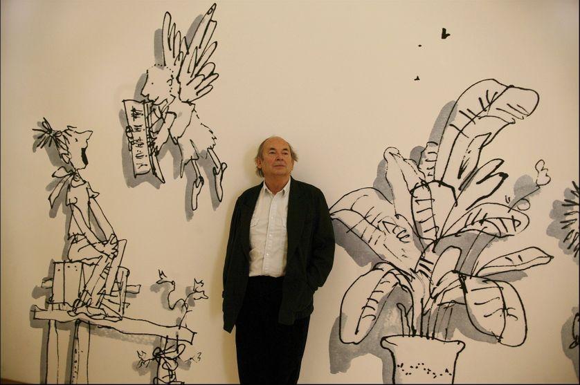 Quentin Blake en 2005 à Paris