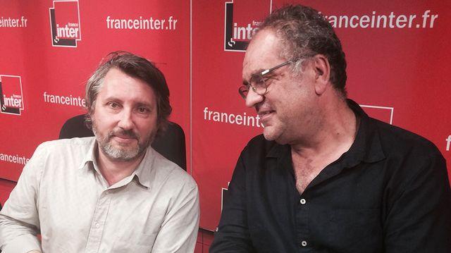 Bruno Podalydès et Laurent Delmas