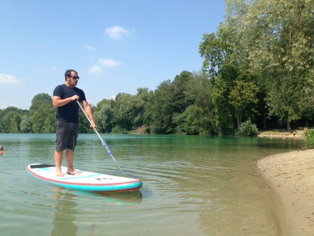 Arnaud Jamet, directeur du CAKCIS (Club de canoë kayak de Sélestat)