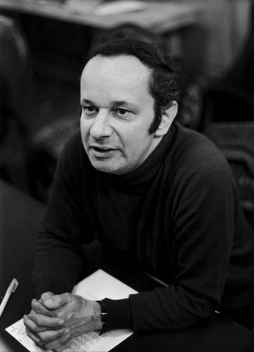 Jean-Louis Bory, critique de cinéma et écrivain