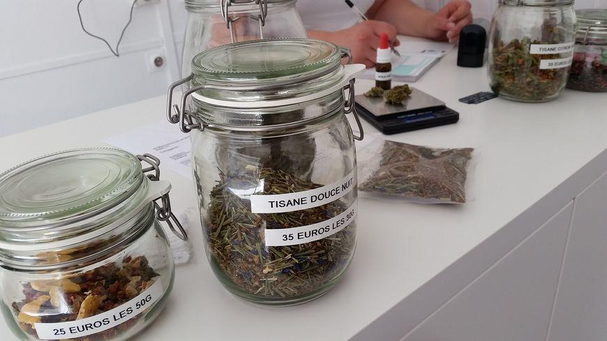 Rien de ce qui est vendu dans la boutique Herb Secret's ne se fume
