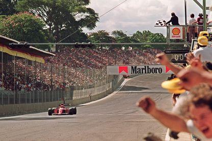 La victoire d'Alain Prost le 24 juin 1990 au Grand Prix du Mexique. C'est de cette victoire en particulier que se souvient le quadruple champion du monde de F1