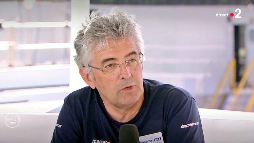Marc Madiot sur le plateau de France 2