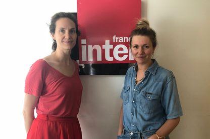 Elise Huillery (à gauche) et Lauren Bastide (à droite)