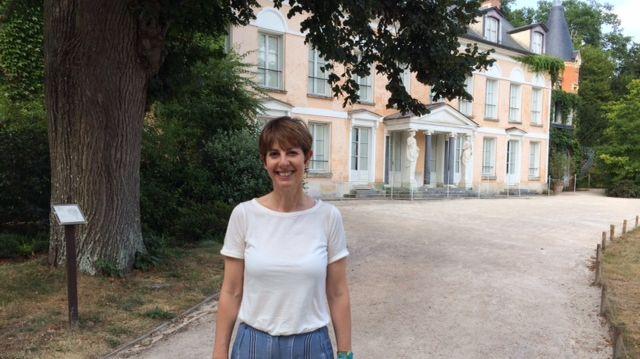 Véronique Martin-Baudouin, directrice chargée des publics de la Maison de Chateaubriand
