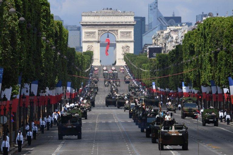 Défilé militaire du 14 juillet 2017