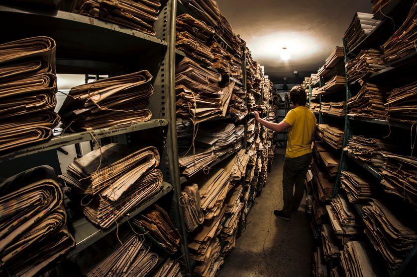Des archives