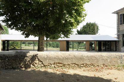 Réfectoire de l'école municipale de Montbrun Bocage - Architecte : BAST