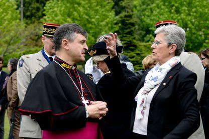 Antoine de Romanet, évêque du diocèse aux armées