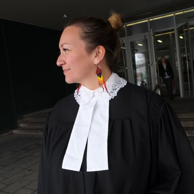 Fanny Wylde, première avocate autotchtone