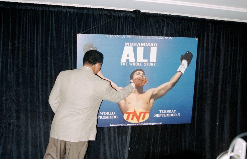 La seule personne a avoir jamais réussi à taire Mohamed Ali, lui-même.