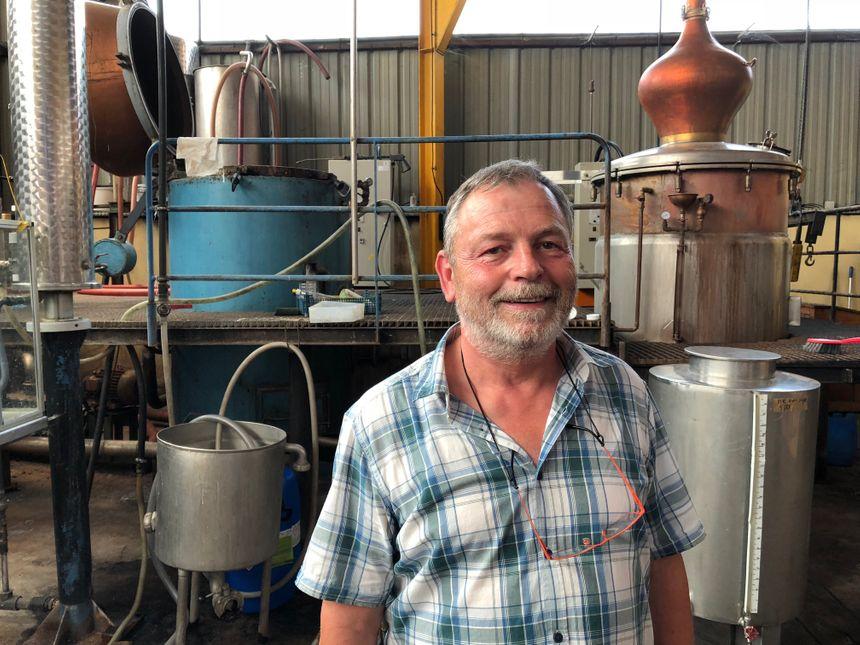 Yves Lehmann, distillateur