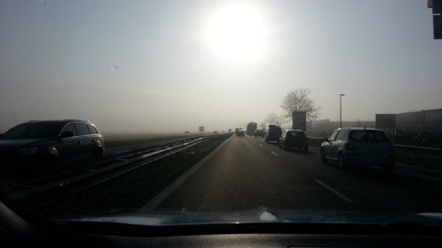 En période pollution, il est recommandé de favoriser les déplacements en transports en commun.