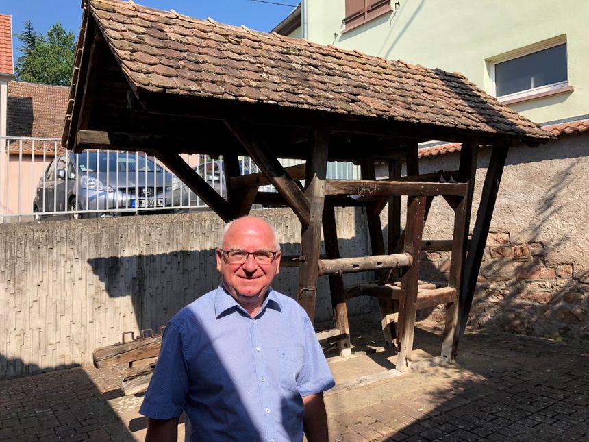 "Raymond Klein, le maire de Bernardswiller, nous parle du ""travail"" (Notstall)"