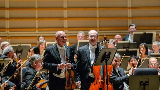 Le violoniste William Preucil (à gauche) a quitté l'orchestre de Cleveland après des accusations de harcèlement sexuel