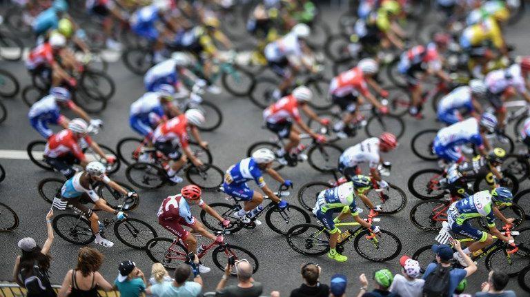 Sur le parcours de la 6e étape du Tour de France entre Brest et Mûr-de-Bretagne