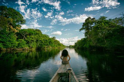 Expédition en Amazonie avec Polo & Pan, à bord du radeau des cimes