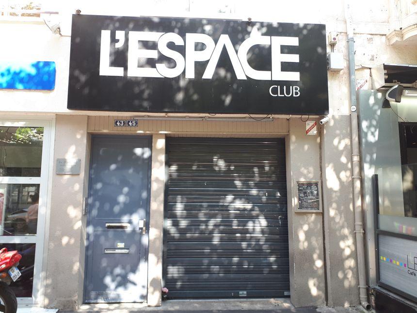 La discothèque l'Espace