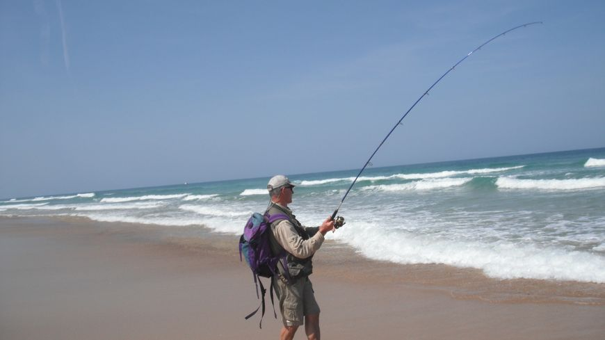 Philippe Garcia, pêcheur dans les Landes