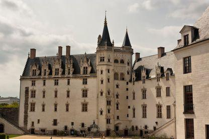 Cour intérieure du Château des Ducs de Bretagne à Nantes