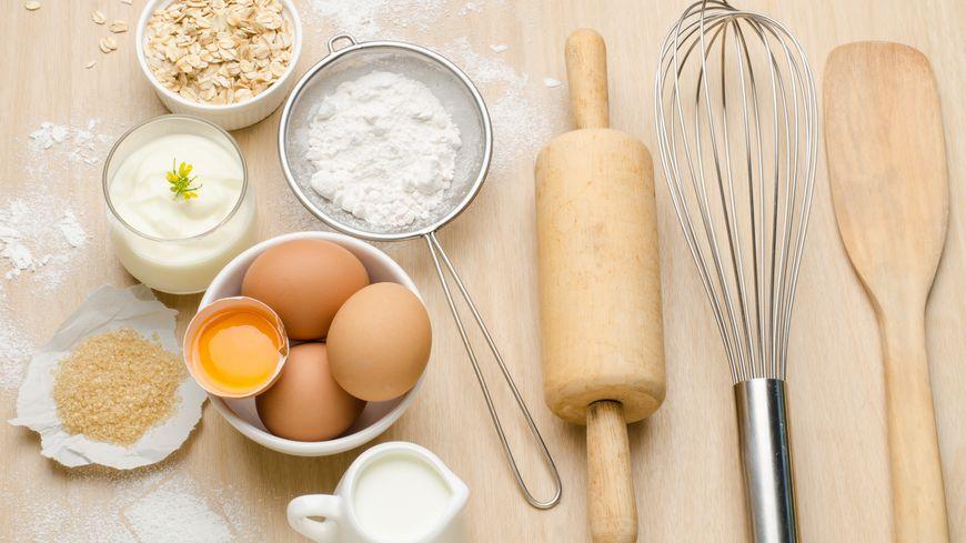 Ustensiles de cuisine. Illustration