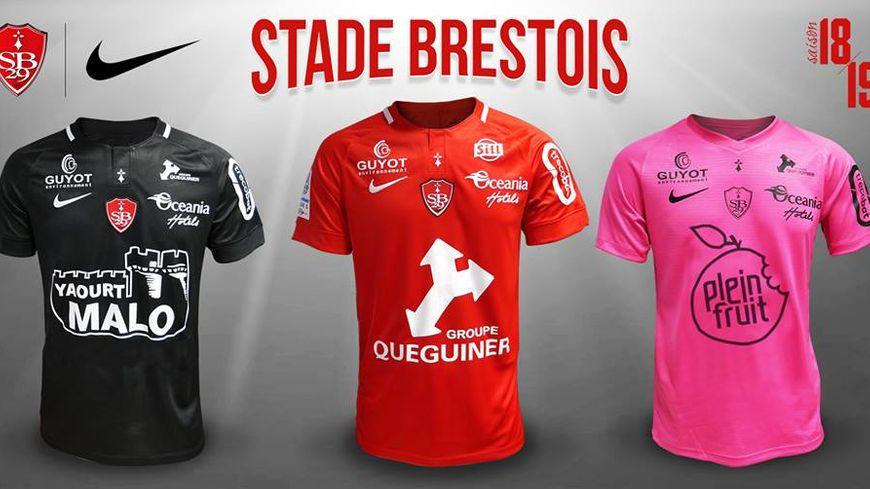 b85a01a5bd Ligue 2 | Le Stade Brestois présente à son tour ses maillots pour la ...