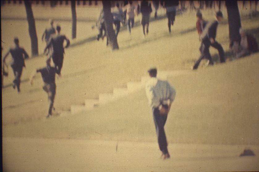 Scène de panique à Dallas, le 22 novembre 1963