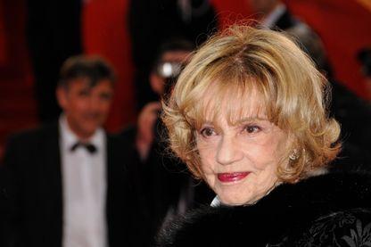 Jeanne Moreau lors du 61ème Festival de Cannes.