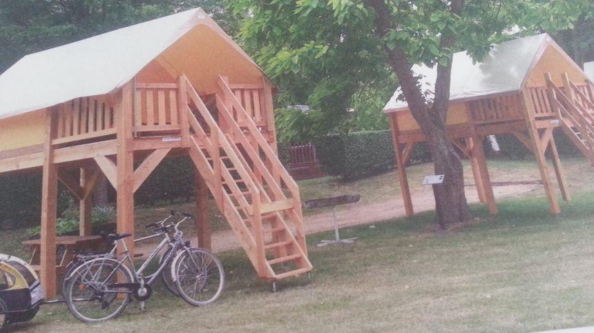 Les bivouacs adaptés à la clientèle cycliste dans les campings. - Aucun(e)