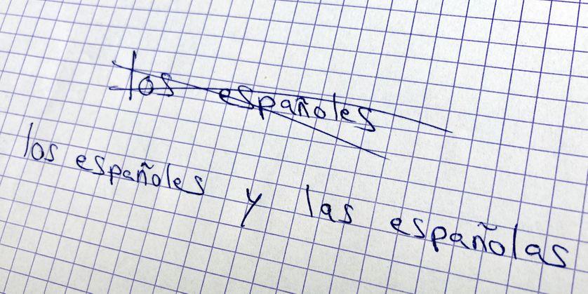 La question de l'écriture inclusive dans la constitution espagnole suscite de vifs débats.
