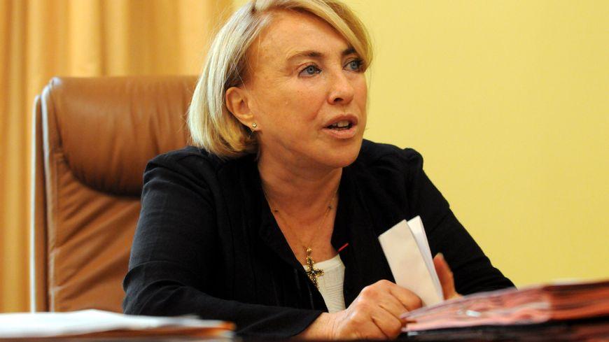 Maryse Joissains est maire d'Aix-en-Provence et présidente de la Communauté du Pays d'Aix