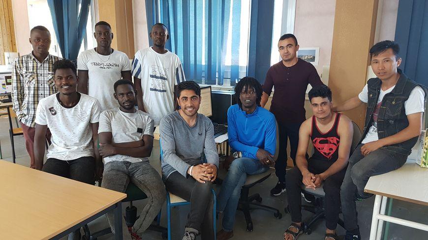 les réfugiés afghans, soudanais