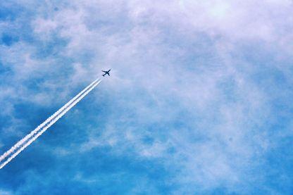Avion sur le départ