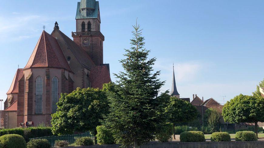 L'église Saint-André à Meistratzheim
