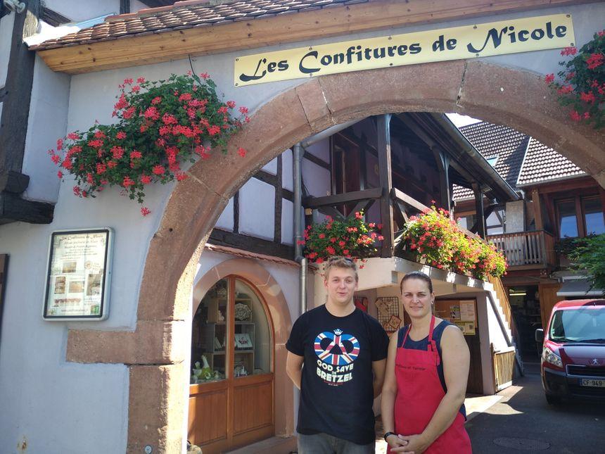 Clément Dorffer et Sophie Weymann, des Confitures de Nicole
