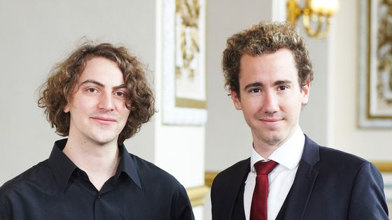 Tristan Raës et Cyrille Dubois