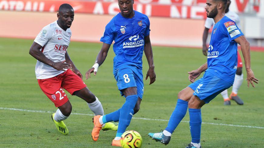 Anthony Koura et les joueurs de l'ASNL ont trop subi face à Béziers