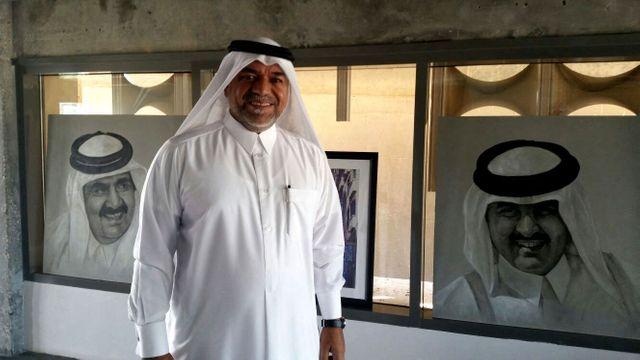 Khalifa Al-Obeidly, directeur de la Fire Station