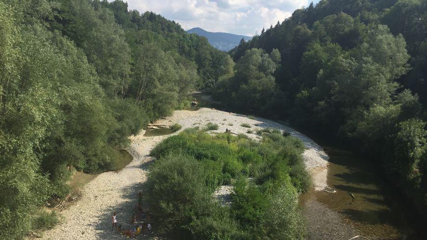 Le deuxième bras de la rivière du Chéran a tout simplement disparu