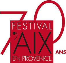 Logo 70e Festival International D'art Lyrique  d'Aix-en-Provence