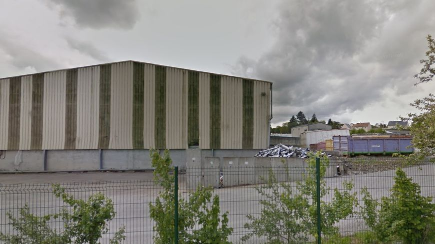 L'entrepôt de l'entreprise Veolia à Tessy-sur-Vire.