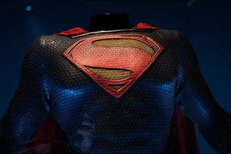 Costume de Superman exposé à Londres en 2018