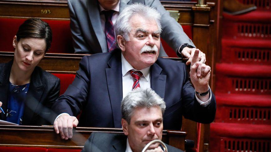 Le député PCF André Chassaigne défendra mardi à l'Assemblée nationale la motion de censure commune de la gauche contre le gouvernement sur l'affaire Benalla.