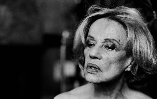 Jeanne Moreau, Paris, 2003