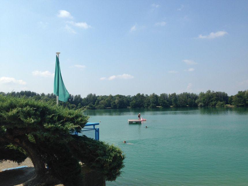 Le plan d'eau de Benfeld... l'endroit idéal pour les journées ensoleillées !