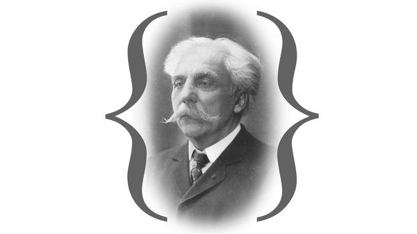 Gabriel Fauré à Paris en 1896 (3/5)