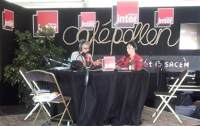 Didier Varrod et Marion Guilbaud