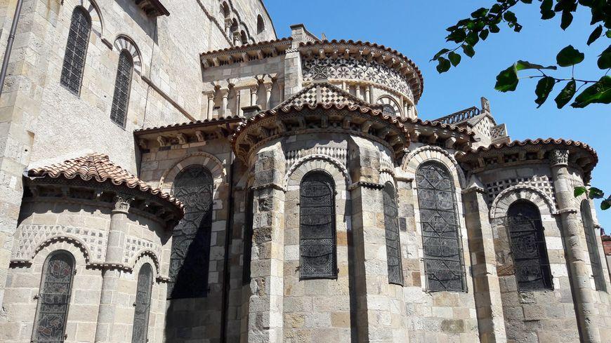 Notre-Dame du Port à Clermont-Ferrand